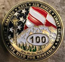 2014 Seattle run coin