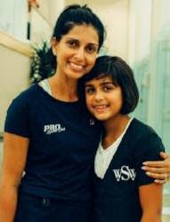Shabana Khan and Yasmine