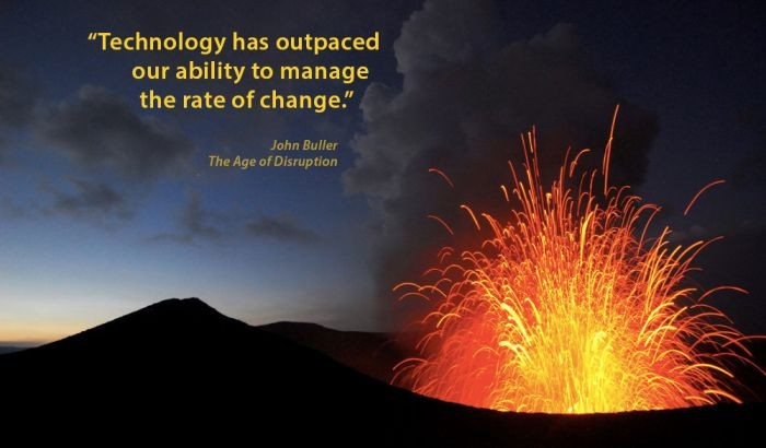 40 Years Fuels John Buller's 'Age of Disruption'
